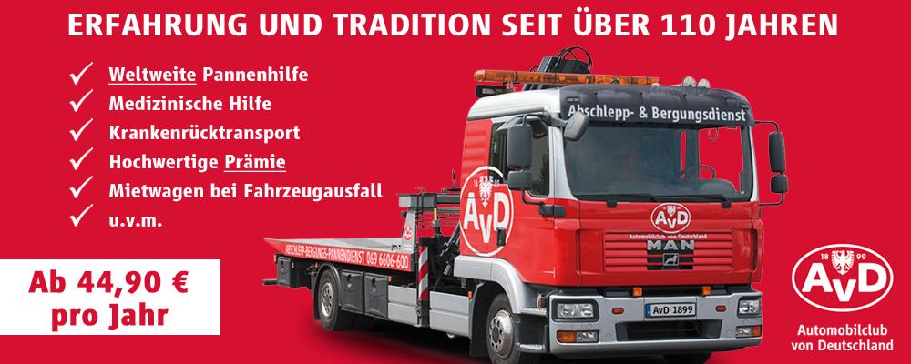 Fahrspass und Sicherheit - AvD Automobilclub von Deutschland