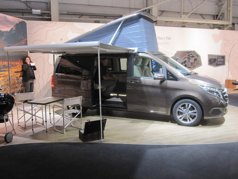 caravan salon 2014 mercedes benz schickt den marco polo auf reisen reise tipp. Black Bedroom Furniture Sets. Home Design Ideas