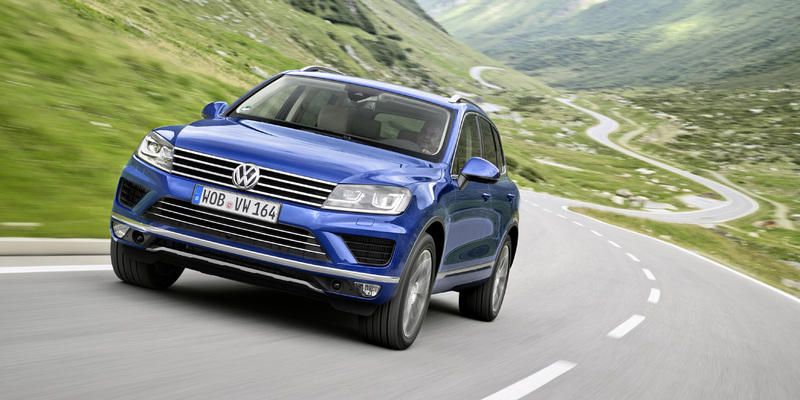 Sch�nheits-Operation f�r VW Touareg
