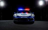 Porsche Carrera in Australien im Polizeidienst