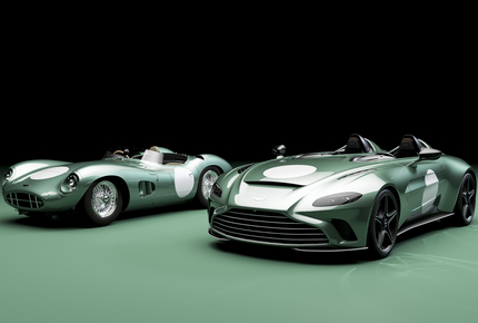 Aston Martin V12 Speedster in ''Racing Green''