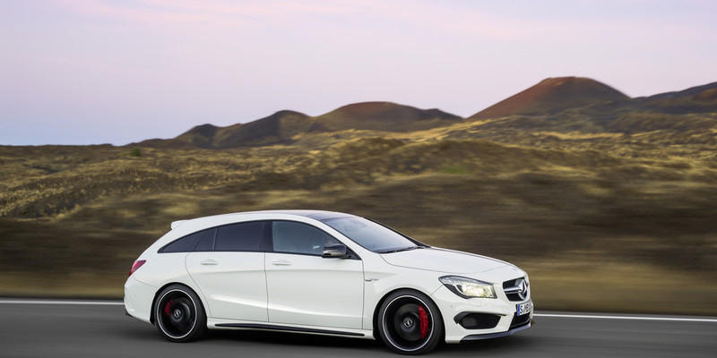 Mercedes-Benz CLA Shooting Brake: Sch�ner laden