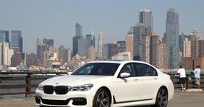 Panorama: Mit dem neuen BMW Siebener in Manhattan - Big im Business