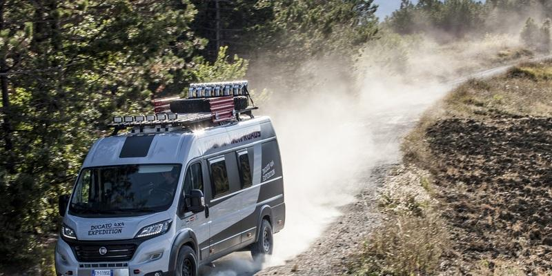 Fiat Ducato 4x4 Expedition - Luxuri�s �ber Stock und Stein