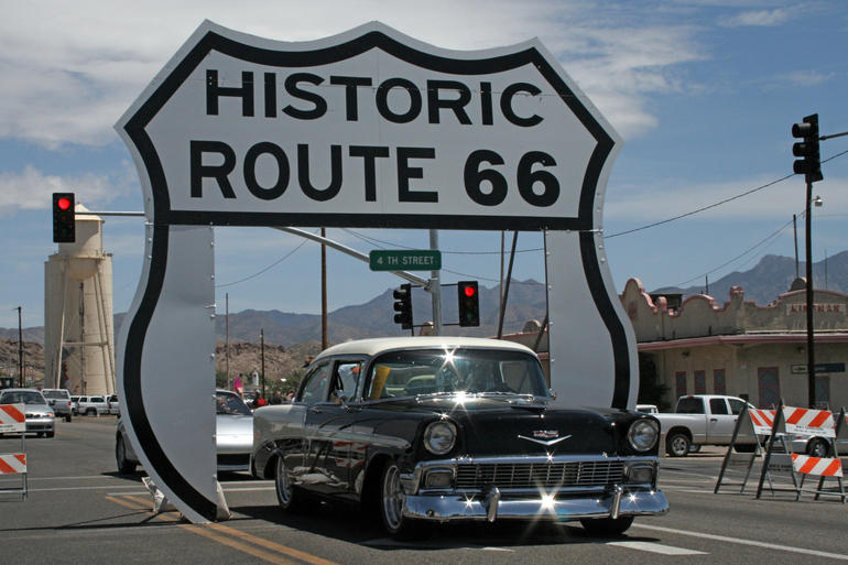 die route 66 feiert 90 geburtstag reise tipp. Black Bedroom Furniture Sets. Home Design Ideas
