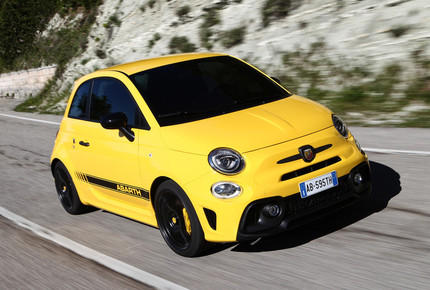 Kurztest Fiat Abarth 595 Competitione: Extrem extrovertiert