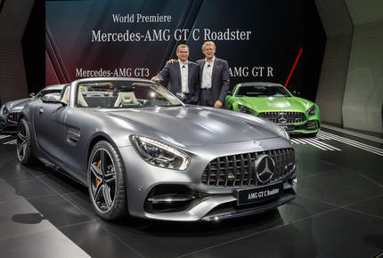 Paris 2016: Mercedes-AMG GT Roadster in zweifacher Ausf�hrung