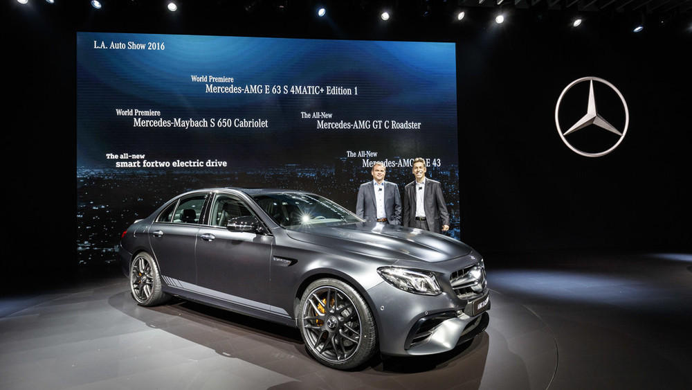 News los angeles 2016 mercedes benz e klasse mit bis zu for Mercedes benz usa dietmar exler