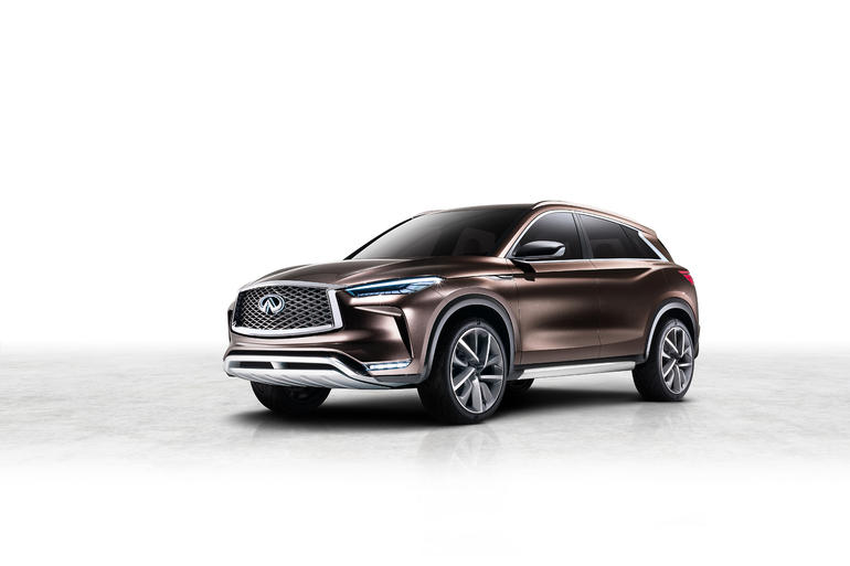 Infiniti QX50 Concept: Charmanter Macho