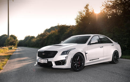 Cadillac CTS-V by Geiger: Volle Ladung