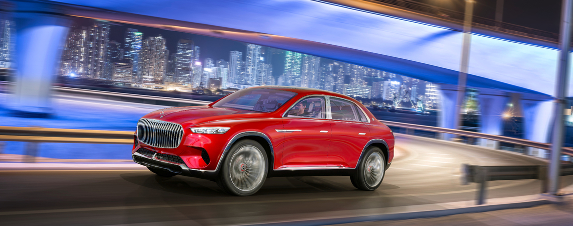 Vision Mercedes-Maybach Ultimate Luxury: Limo mit SUV-Schuss