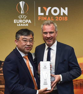 Hankook bleibt bis 2021 Partner der UEFA Europa League