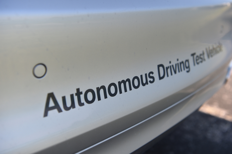 BMW testet autonome Autos in China