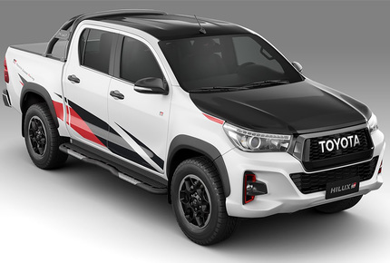 Toyota Hilux GR Sport  - Packesel in Racing-Optik
