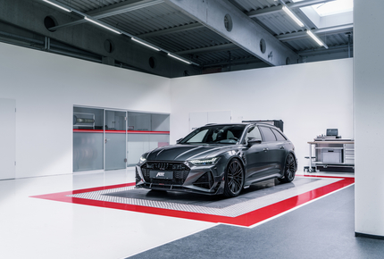 Abt RS6-R: Power-Kombi mit 740 PS