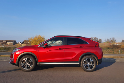 SUV-Coupe Mitsubishi Eclipse Cross - starker Japaner